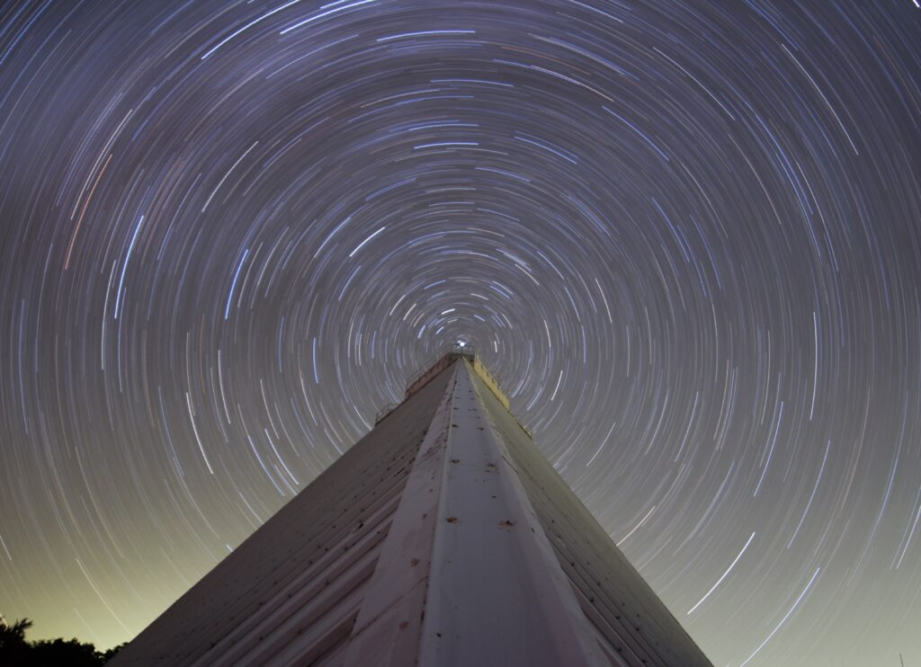 Getting started with star trails.