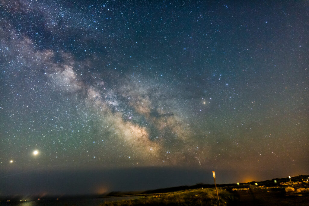 View the Milky Way